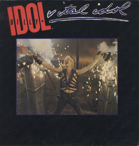"BILLY IDOL - Vital Idol - Signed 12"" Vinyl"