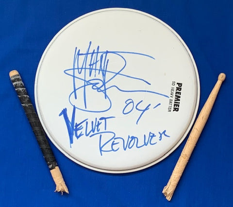 MATT SORUM - Velvet Revolver Drum Head And Stick