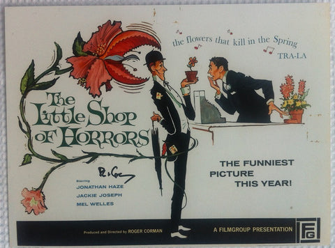 "ROGER CORMAN - The Little Shop Of Horrors - 12"" x 16"""