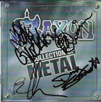 SAXON - CD - Multi-Signed