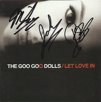 THE GOO GOO DOLLS - Let Love In CD - Multi-Signed