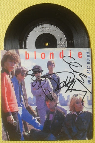 "BLONDIE - 7"" Vinyl - Multi-Signed - (3)"