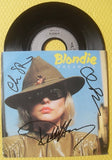 "BLONDIE - 7"" Vinyl - Multi-Signed - (5)"