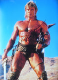 "DOLPH LUNDGREN - Masters Of The Universe - 12"" x 16"" - (2)"