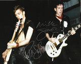 MICK JONES & PAUL SIMONON - The Clash - Multi-Signed