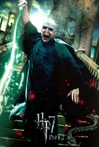 "RALPH FIENNES - Harry Potter - 12"" x 16"" - (4)"