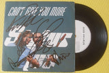 "STATUS QUO - Can't Give You More 7"" Vinyl - Multi-Signed"