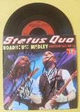 "STATUS QUO - Roadhouse Medley 7"" Vinyl - Multi-Signed"