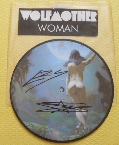 "WOLFMOTHER - 7"" Vinyl - Dual Signed - (2)"