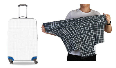 Musical Notes Galaxies Luggage Cover Luggage Covers EVE Music
