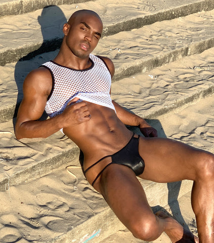 Gay Black Model Kyle Goffney Interview with JJ Malibu. Kyle Goffney shares about what is it is like being a gay black man in the modelling industry.