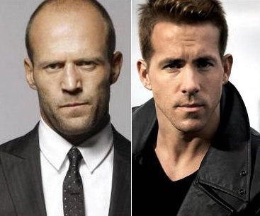 Jason Statham and Ryan Reynolds