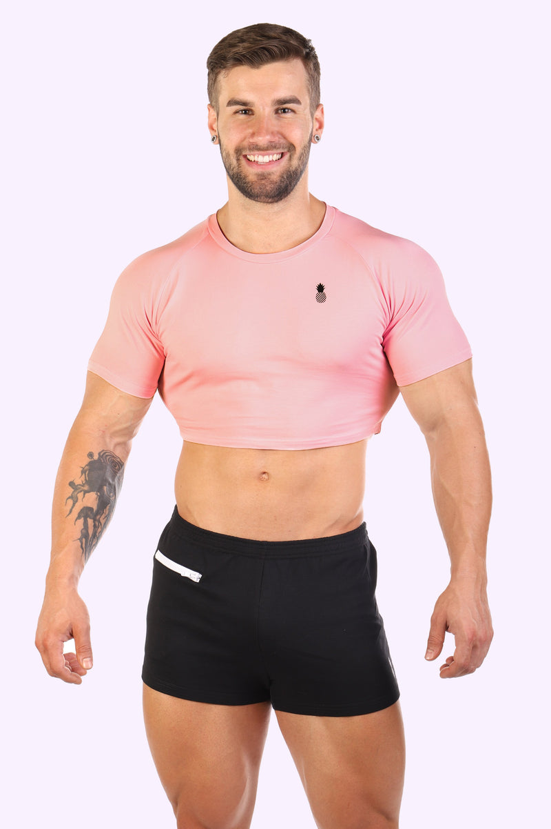 Signature JJ Crop Top - Cotton Candy - J.J. Malibu