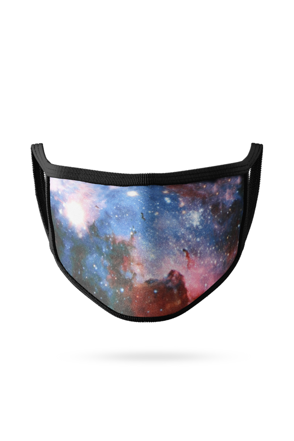 Reusable Face Mask - Galaxy