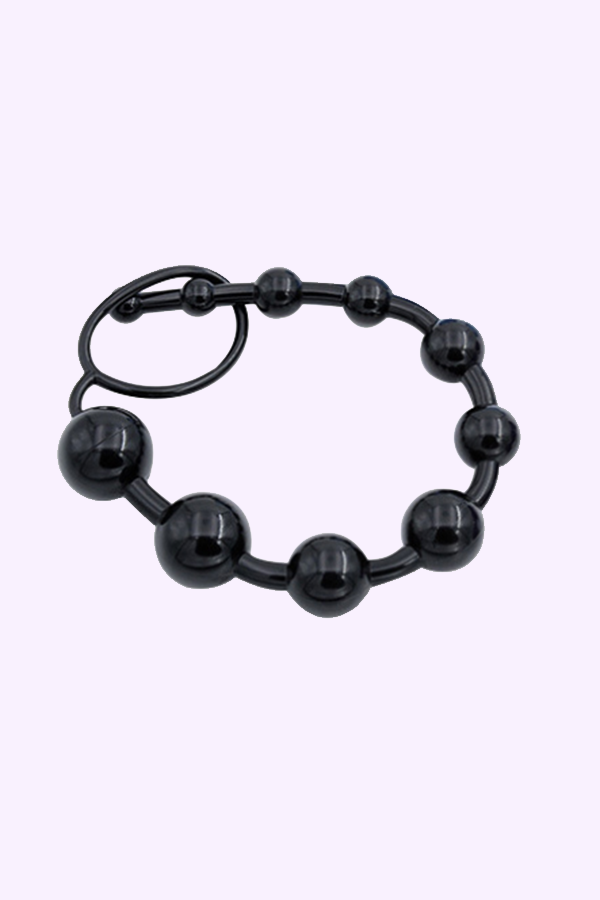 Shop Black Anal Beads for Beginners. Anal beads for Anal and Prostate Stimulation. Butt Play