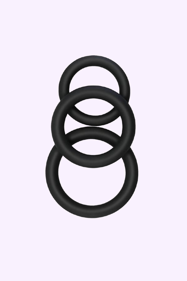 Ultimate Circle Cock Ring - 3 Pack