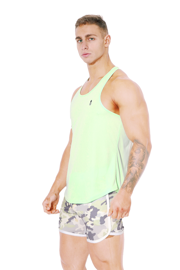 Dri-Fit T-Back Tank Top - Mint Green