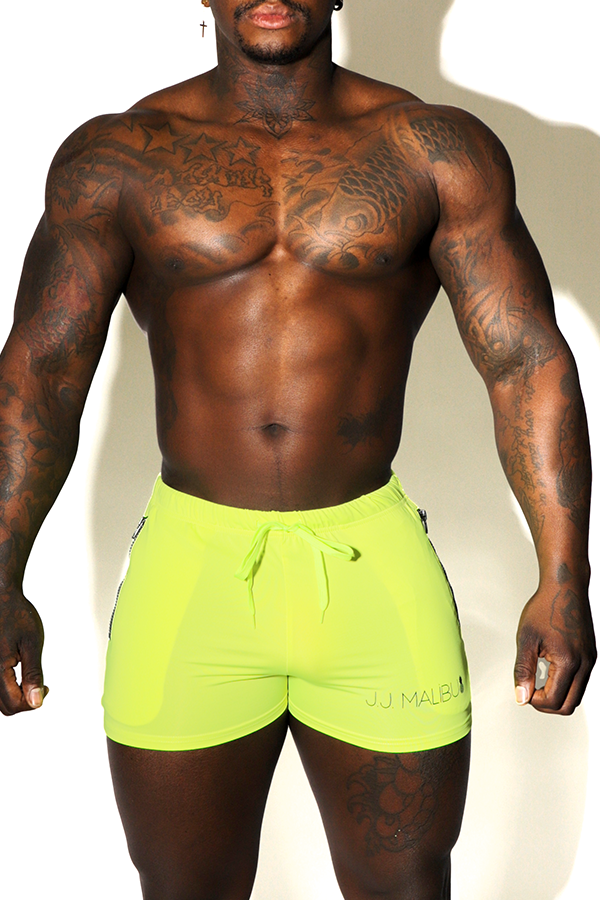 "JJ ""Sunrise"" Shorts - Electro Yellow"