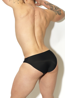Not What It Seamless Brief - Black