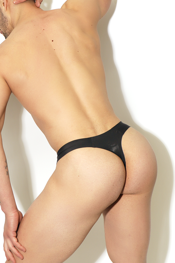 Not What It Seamless Thong - Black