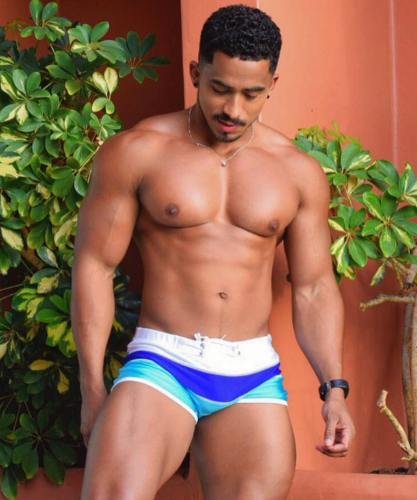 JJ Sporty Swim Trunk - Fire Island