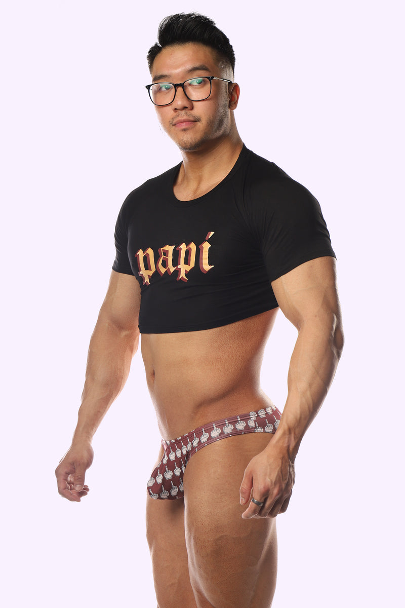 Papi Crop Top