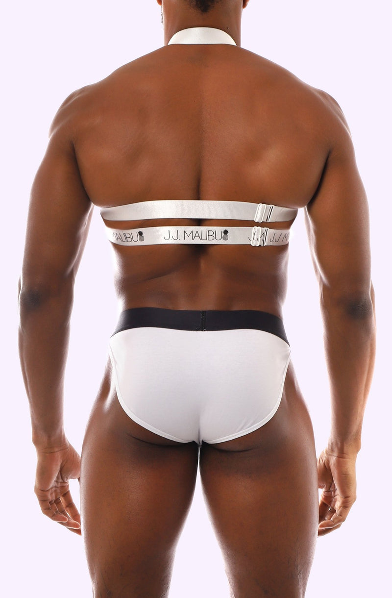 Hex Boyfriend Harness - White - J.J. Malibu