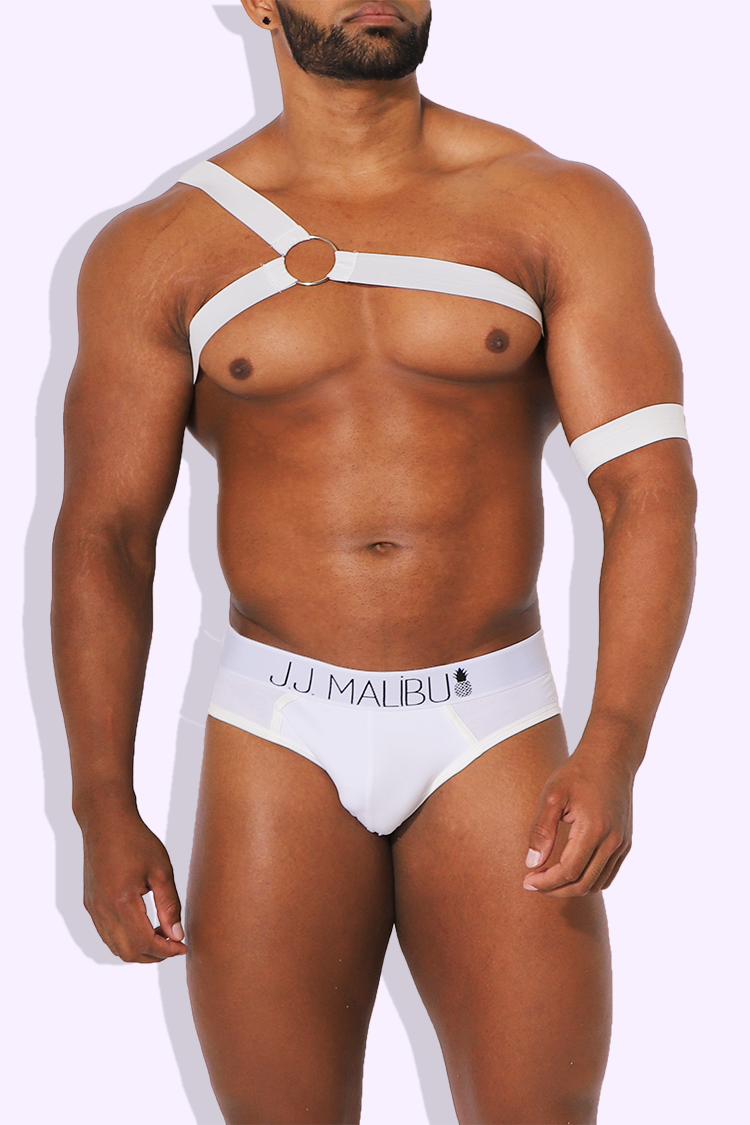 JJ Deviant Harness - Snow