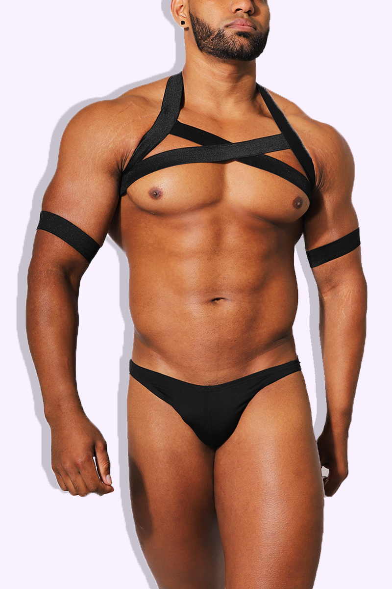 JJ Enemy Harness - Black