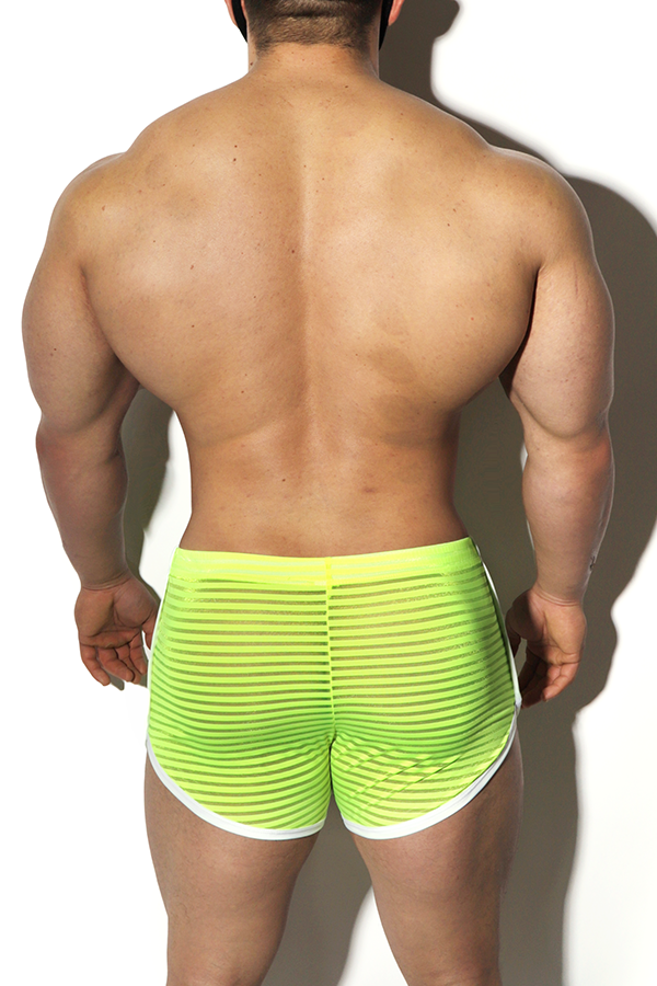 JJ Gotham Shorts - Neon Yellow