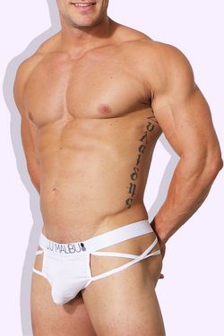 JJ Monsieur Thong - White