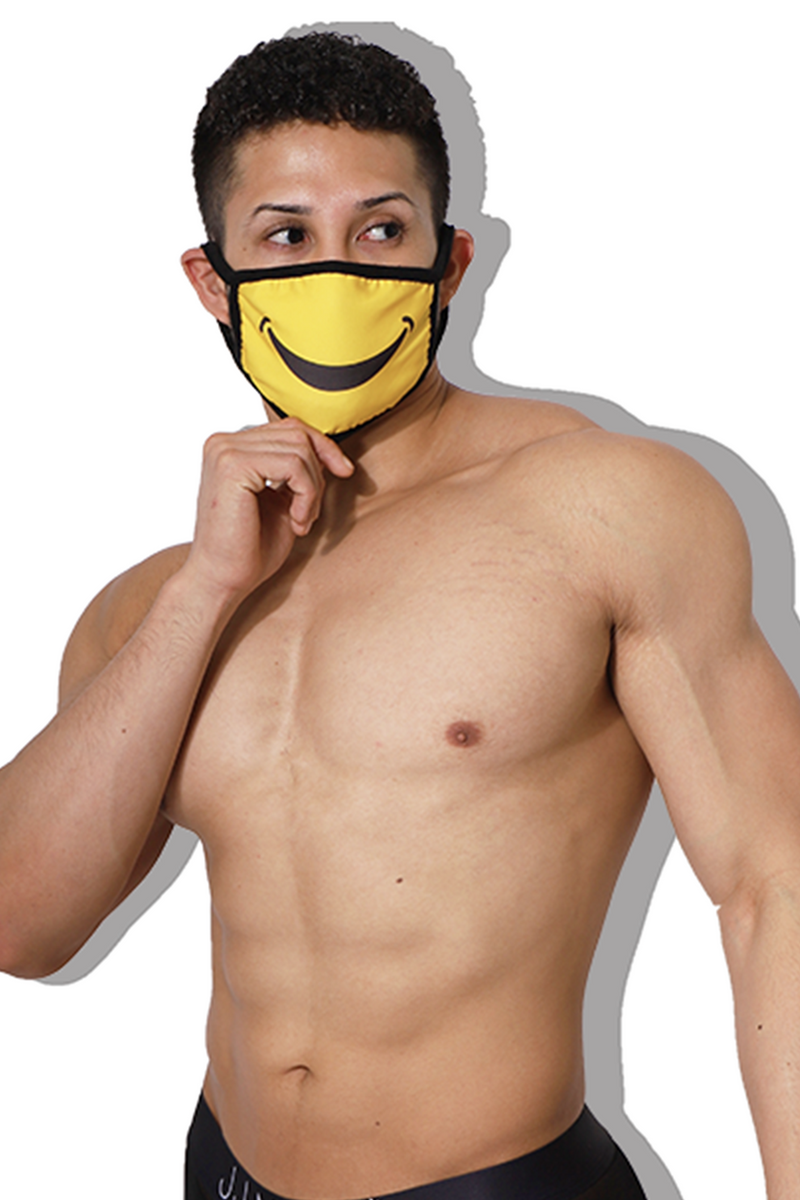 Reusable Smile Face Mask