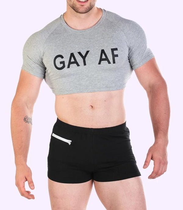 Men's Crop Top - Gay AF