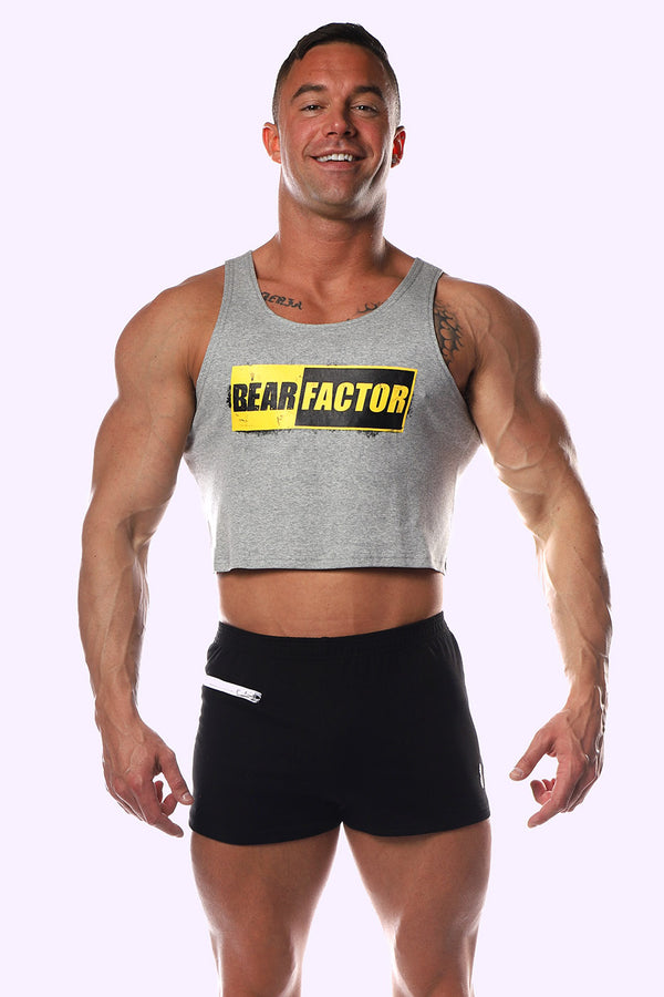 Bear Factor Crop Tank - J.J. Malibu