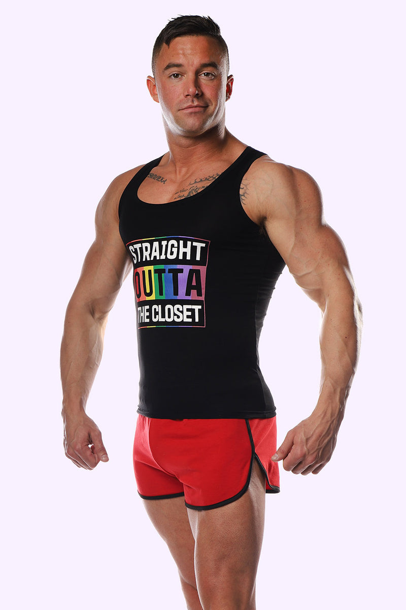 Straight Outta The Closet Tank Top - J.J. Malibu