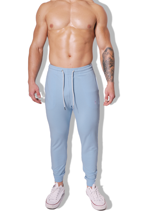 New Romantics Joggers - Baby Blue