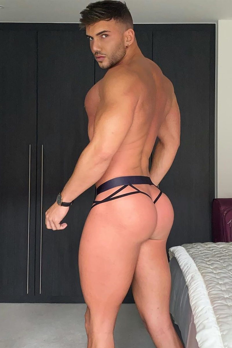 JJ Monsieur Thong - Black