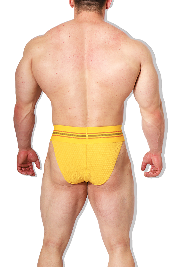 Musky Brief - Mustard Yellow