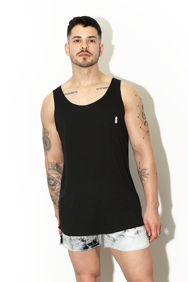 Rebel Tank Top - Black