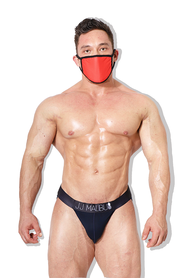 Reusable Red Hot Face Mask