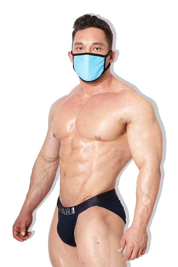 Reusable Sky Blue Face Mask