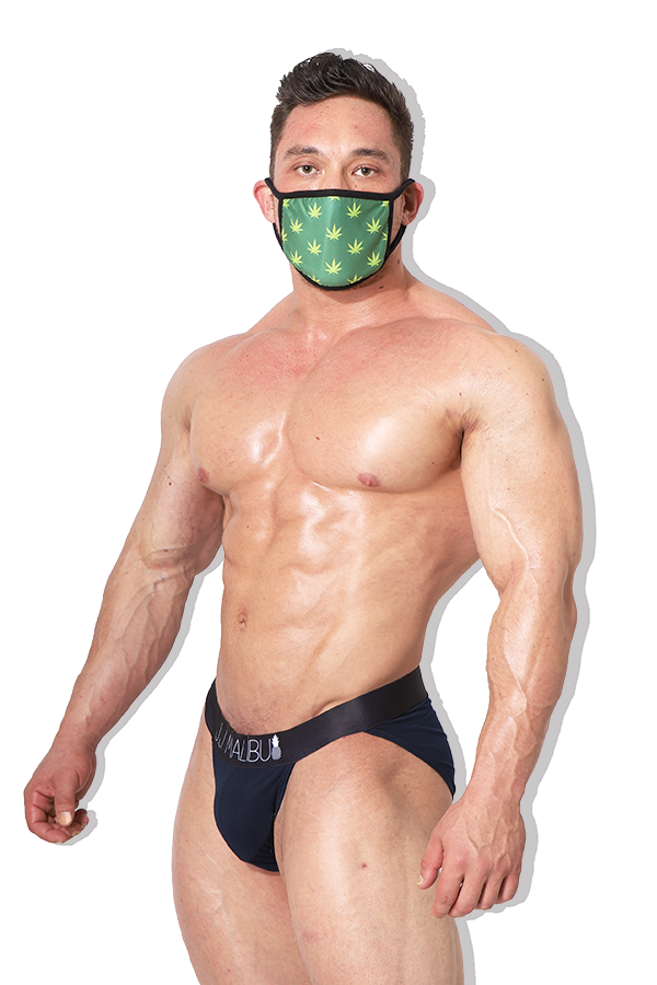 Reusable Weed Face Mask