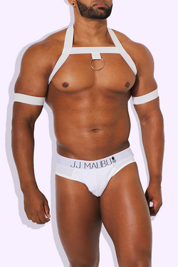 Ring Leader Harness - White