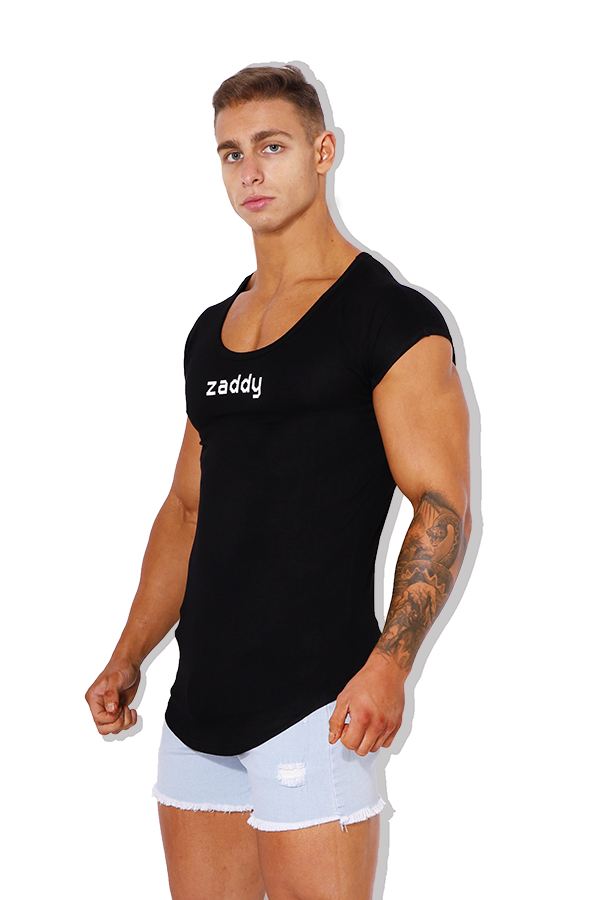 Capped Sleeve T-Shirt - Zaddy