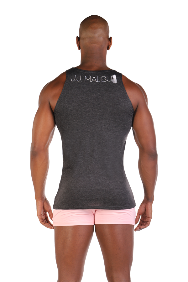 JJ Pocket Tank Top - Gray