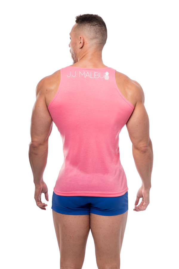 JJ Pocket Tank Top - Pink