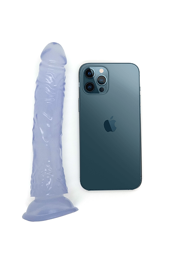 Euphoria Dildo with Suction Cup - Clear