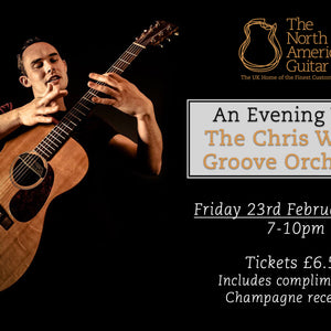 TNAG Events: Chris Woods Groove Orchestra
