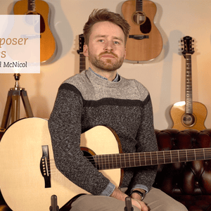The Composer Series With Will McNicol | Gerber RL16 Acoustic Guitar