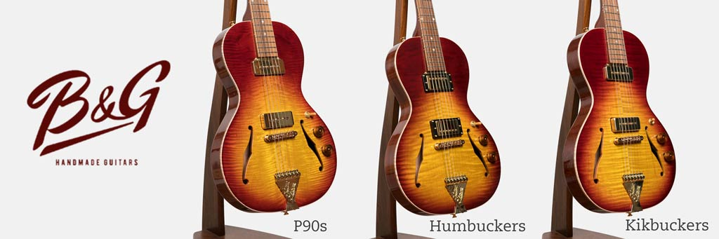 B&G Guitars Little Sister Private Build Comparison